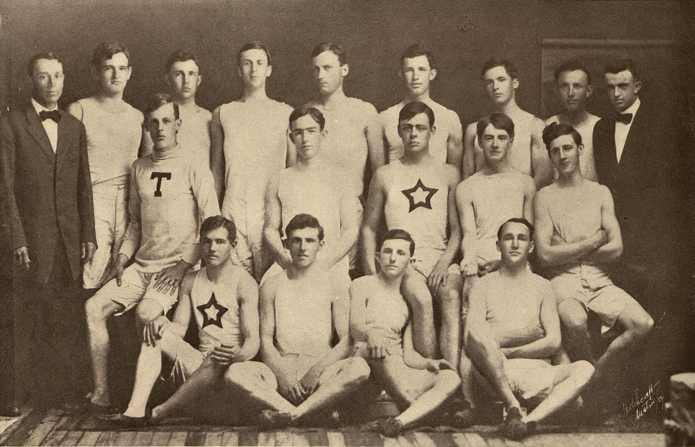 University of Texas track team, 1909