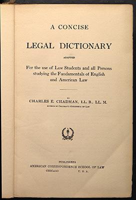 Chadman, title
