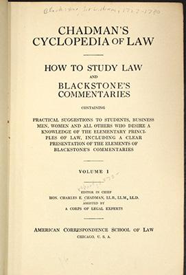 Cyclopedia, title page