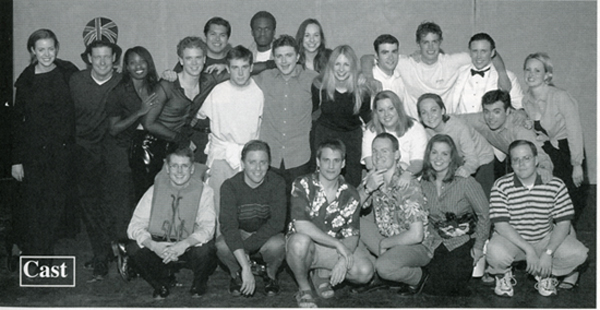 Group photo of cast of The Usual Subjects, 2001
