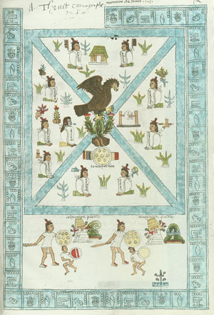 Image of the Founding of Tenochtitlan