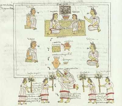 Image of Aztec Wedding Ceremony