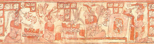 Depiction of Tribute or Sacrifice to Ruler