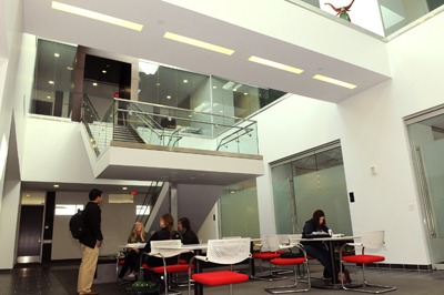 Susman Academic Center Atrium 2011