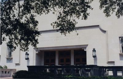 Main Entrance, Townes Hall
