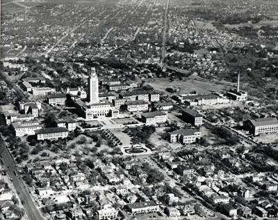 UT Campus c.1950