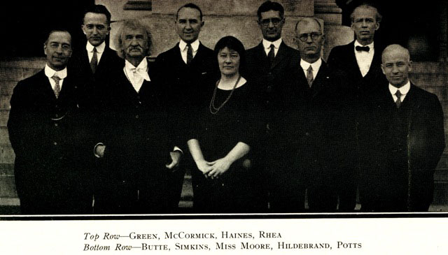 Law Faculty 1924
