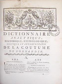 Title page, Vocabularius utriusque juris, 1532