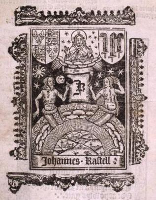 Rastell, printer's mark