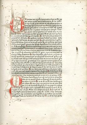 Title page Vocabularius utriusque iuris, 1476