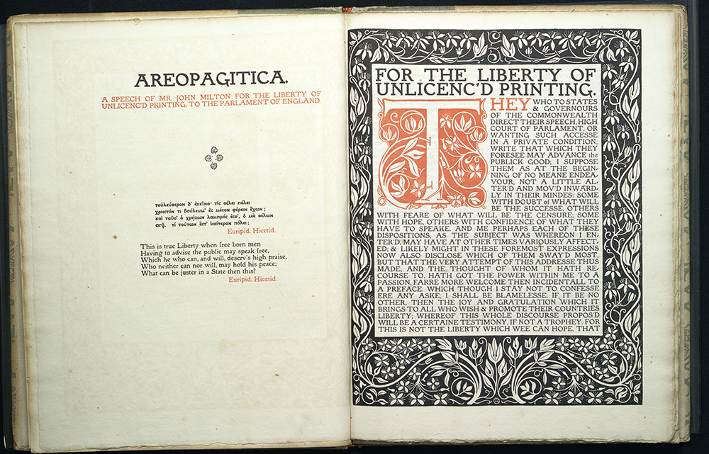 Areopagitica, Eragny Press