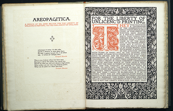 Ergany, Aeropagitica, opening