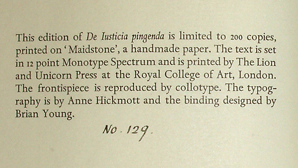 Battista, colophon