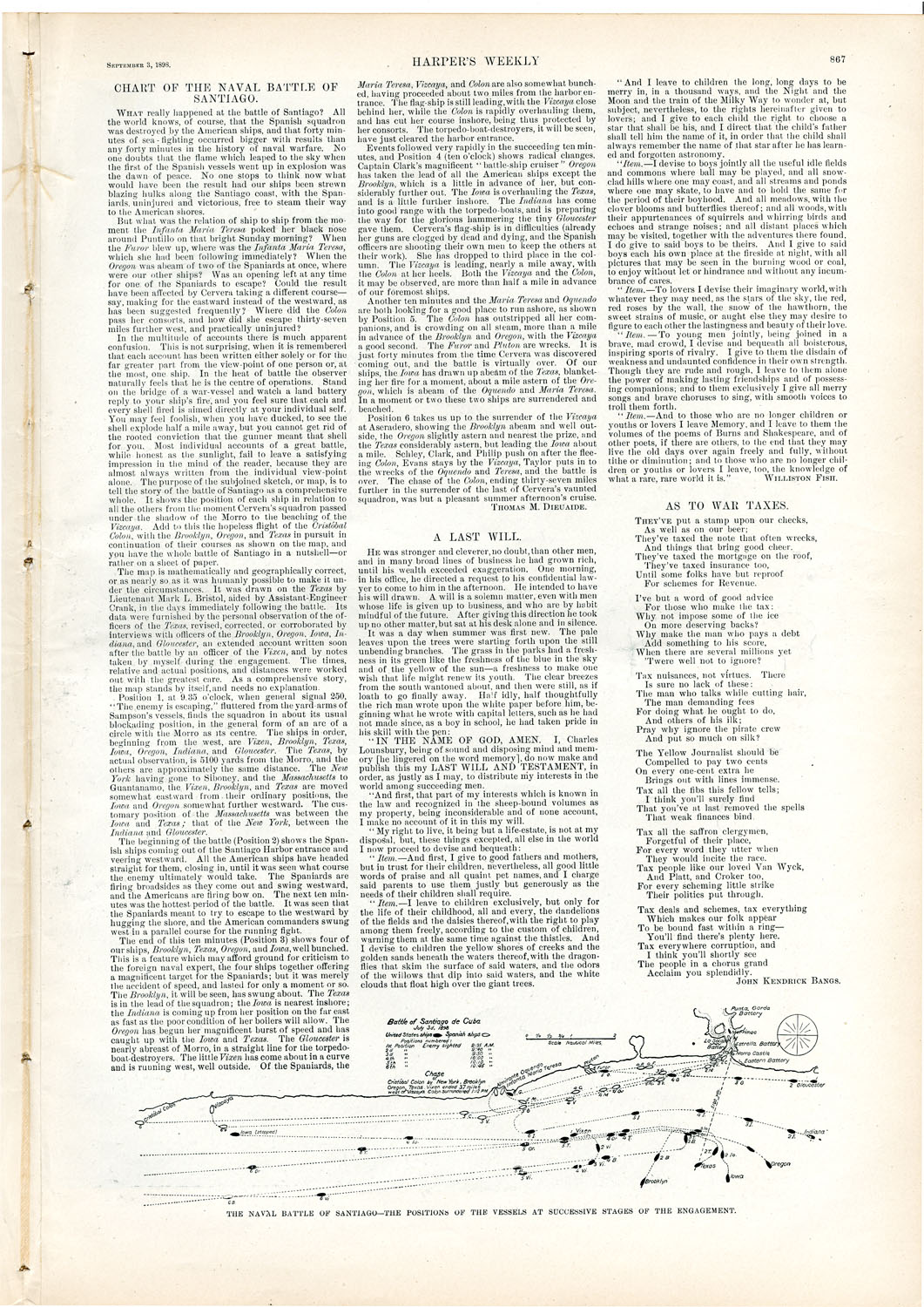 Full page including text of original printing