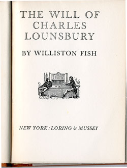 Loring & Mussey Titlepage, 1936