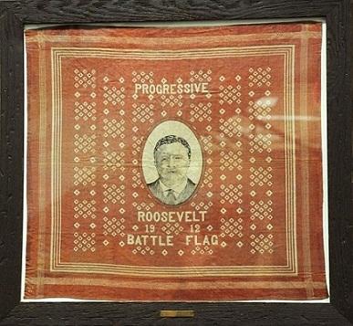 Roosevelt campaign handkerchief 1912