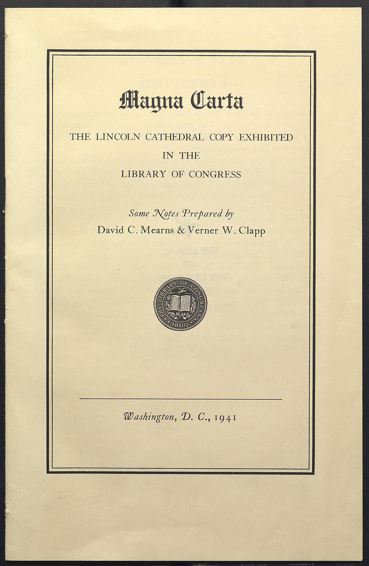 Magna Carta visits USA