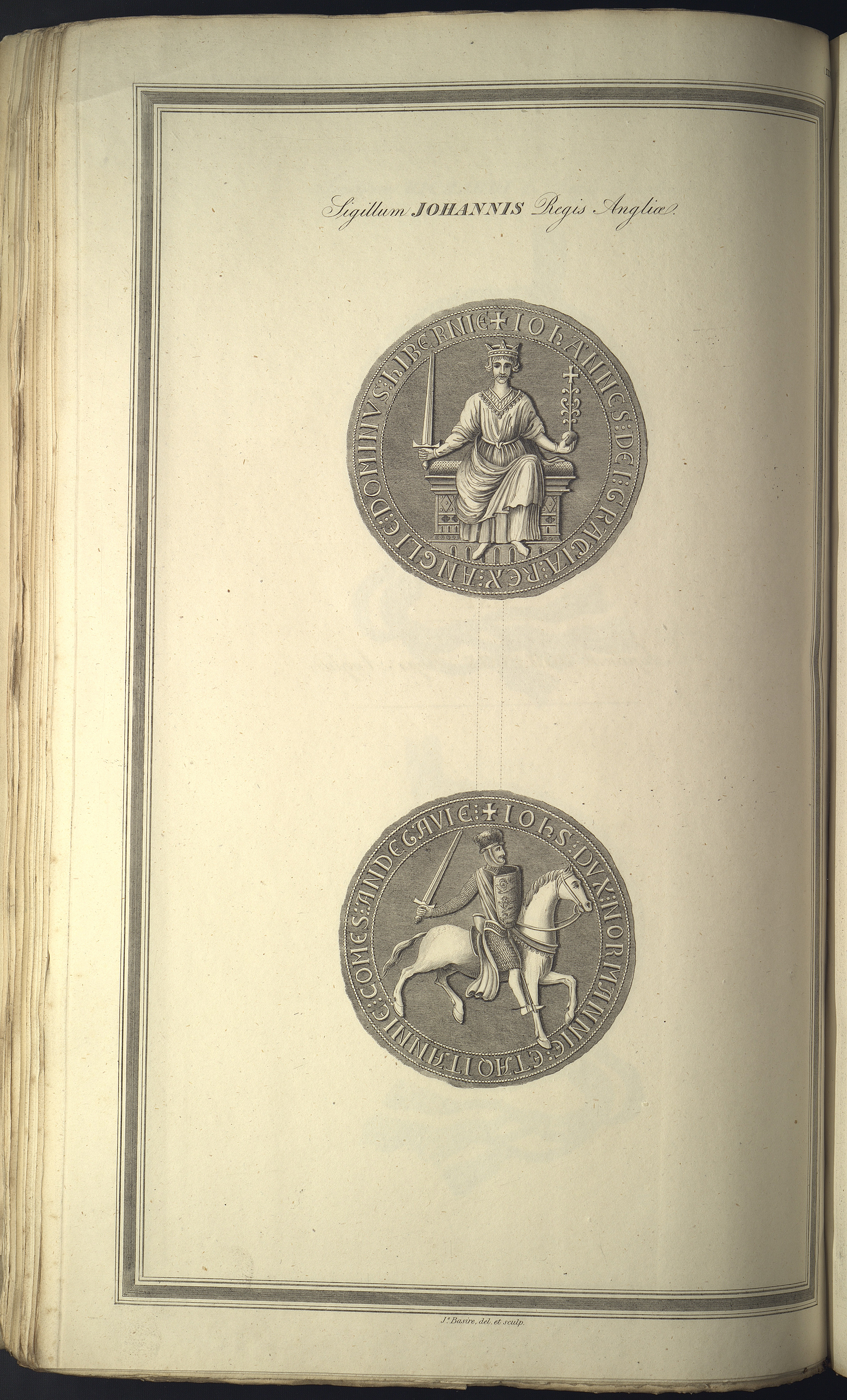 Obverse and Reverse of King John's Seal