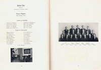 U.T. chapter of Delta Chi in 1908 Cactus yearbook