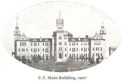 U.T. Main Building, 1907