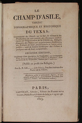 Title page Champ'Asile
