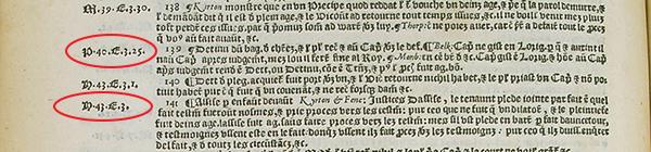 Fitzherbert's Abridgement, folio 116 v., detail