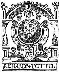 Richard Tottell's Printer's Mark