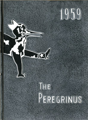 Cover of The Peregrinus yearbook, 1959