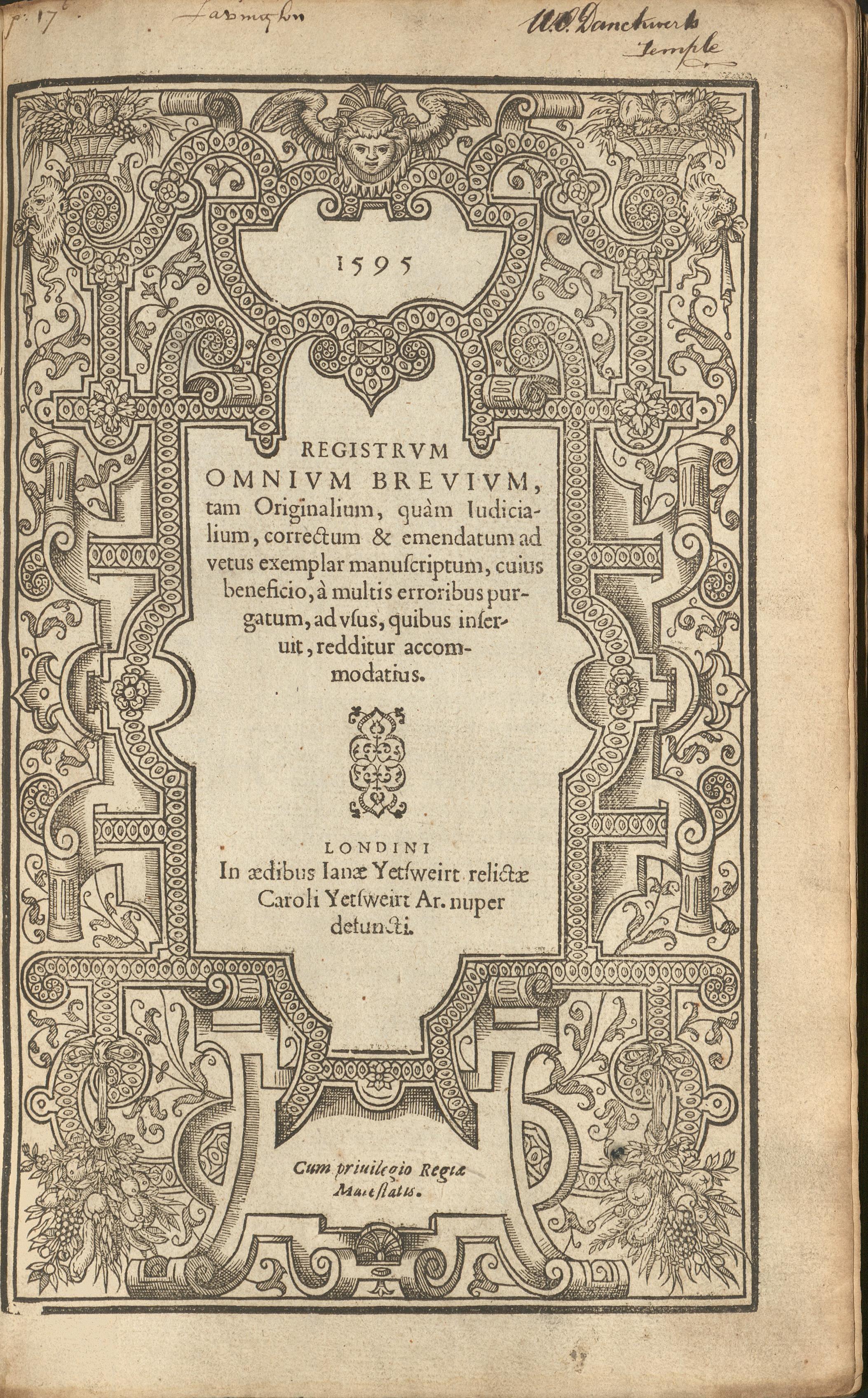 Registrum Omnium Brevium