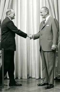 lyndon b johnson and essay examples Presidential candidate richard nixon meets with lyndon johnson at the white house,  who are the best and worst foreign policy presidents of the last 100 years.