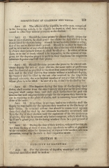 beginning page of Title I, Section II