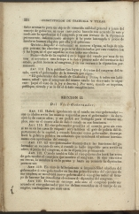 only page of Article II, Section II