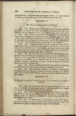 only page of Article II, Section V