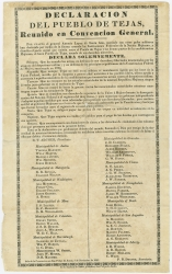 only page of Declaration