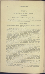 beginning page of Title V, Sections 1-2