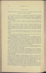beginning page of Title III, Section 4