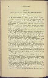 beginning page of Title IV, Section 1