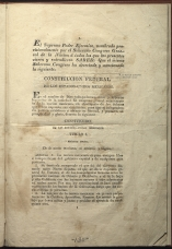 only page of Preamble and Title I