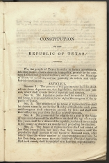 only page of Preamble-Article 1