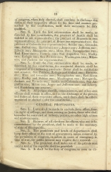 beginning page of General Provisions