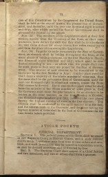 beginning page of Article IV