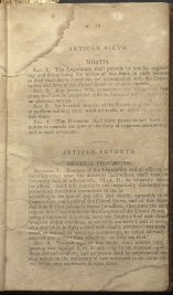 only page of Article VI