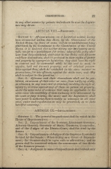 only page of Article VIII
