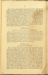 only page of Article II
