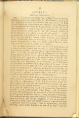 beginning page of Article VII