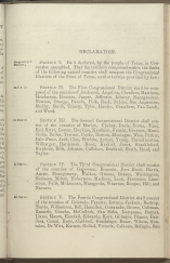 beginning page of Declaration
