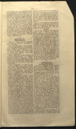 only page of Article XV