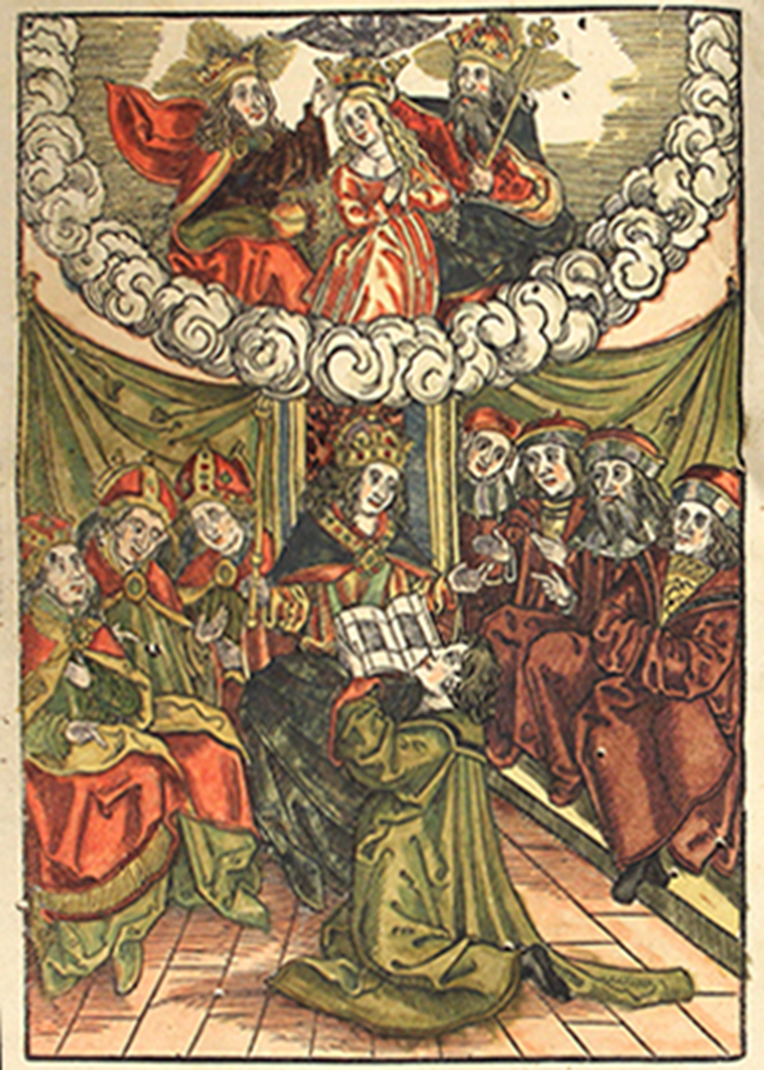 Woodcut from Der Richterlich Clagspiegel.