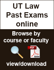 UT Law Past Exams online