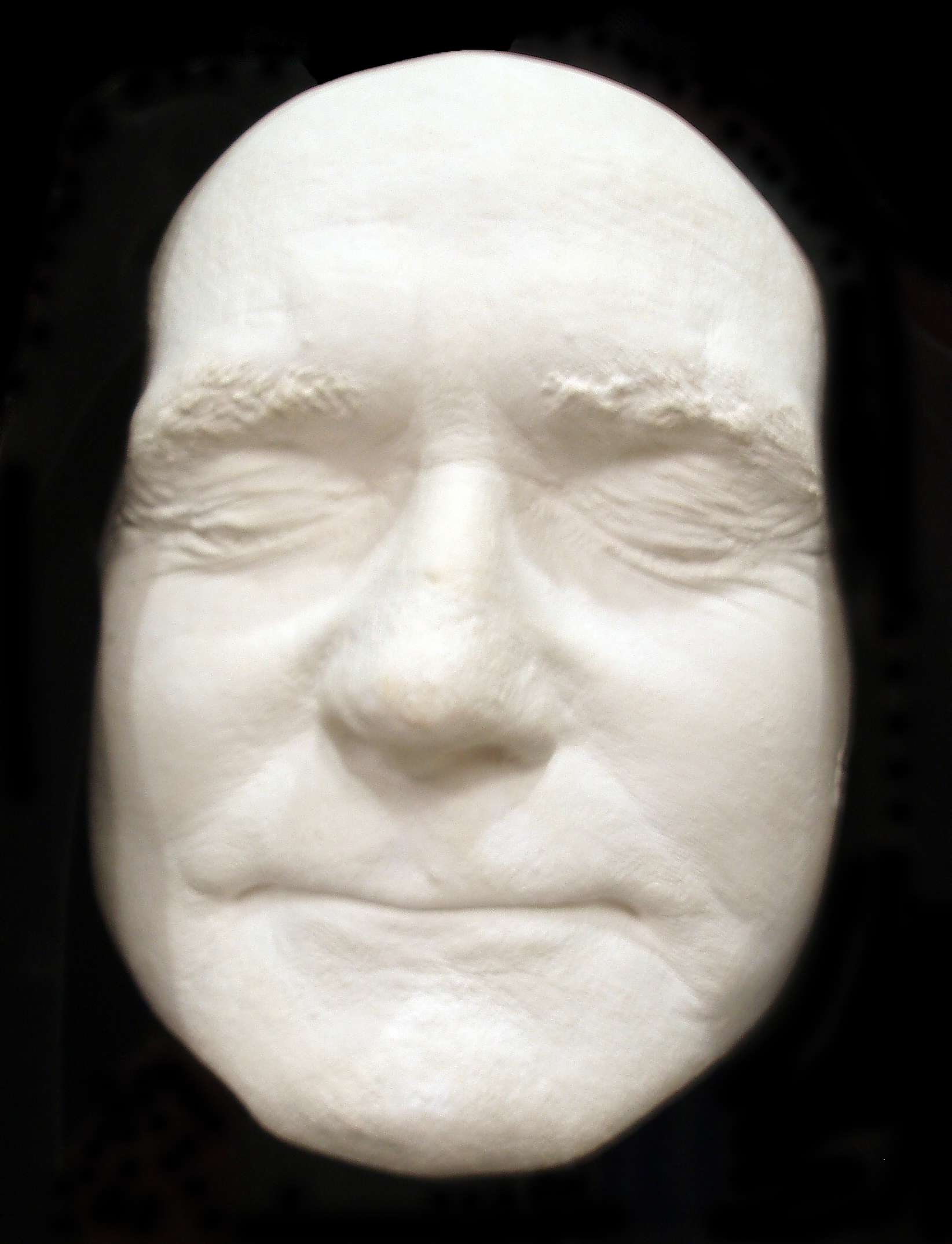 Life mask of Albert Pierrepoint